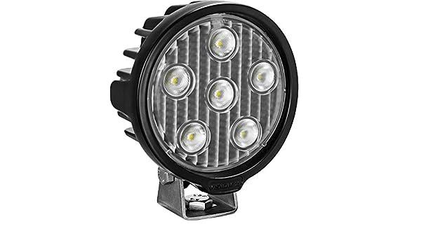 Series Work Light Round//Six 5-WATT LEDS 40 Degree Flood Pattern Vision X Lighting VLR050640 One Size VL