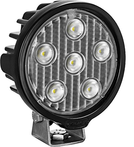 Vision X Lighting VWR050640 One Size VL- Series Work Light (Round/Six 5-WATT LEDS/40 Degree Flood Pattern/Deutsch Connector)