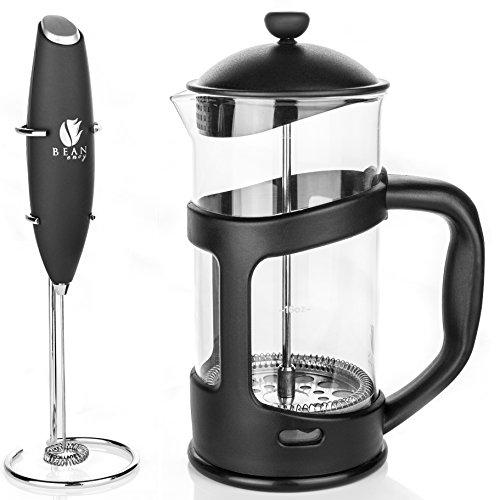 French Press Coffee Maker Electric : Save 50%! - Bean Envy 34 oz French Press Coffee, Espresso and Tea Maker - Premium Bundle ...