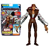ToyBiz Year 2006 Marvel Legends Onslaught Series 6 Inch Tall Super Poseable Action Figure - LADY DEATHSTRIKE with 31 Points of Articulation, 32 Page Comic Book and Marvel Vs. System Trading Card Plus Onslaught's Upper Torso and Head