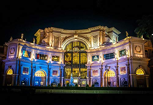 Yilooom Forum Shops at Caesar's Palace - Architecture Poster - Photo Print - Scenic Art (Caesars Palace-shops)