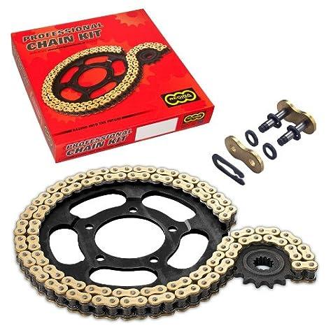 REGINA Set de cadena con juntas tóricas para motocicleta, para Yamaha DT 125 R (