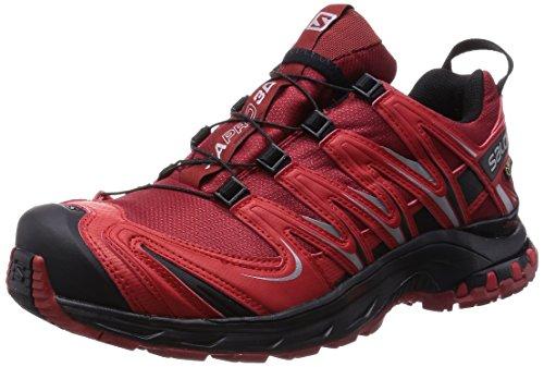SalomonXA Pro 3D GTX - zapatillas de trekking y senderismo de media caña Hombre Flea/Bright Red/BK