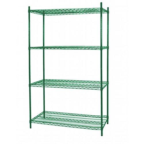 48 Green Epoxy Wire Shelf (Excellante Epoxy Coating Wire Shelves with 74