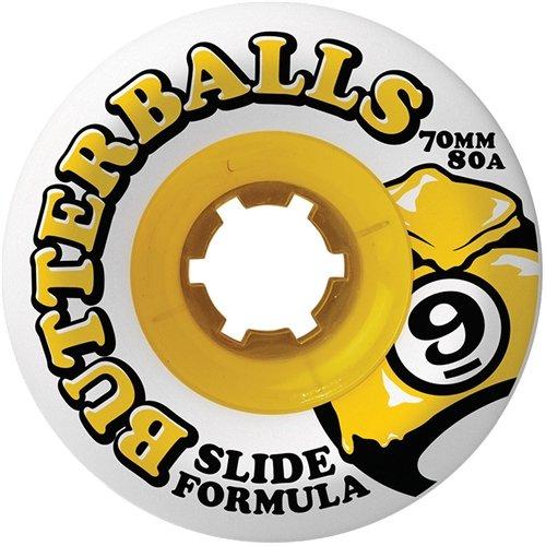 Sector 9 Slide Butterballs Longboard Wheels - 70mm 80a (Set of 4)