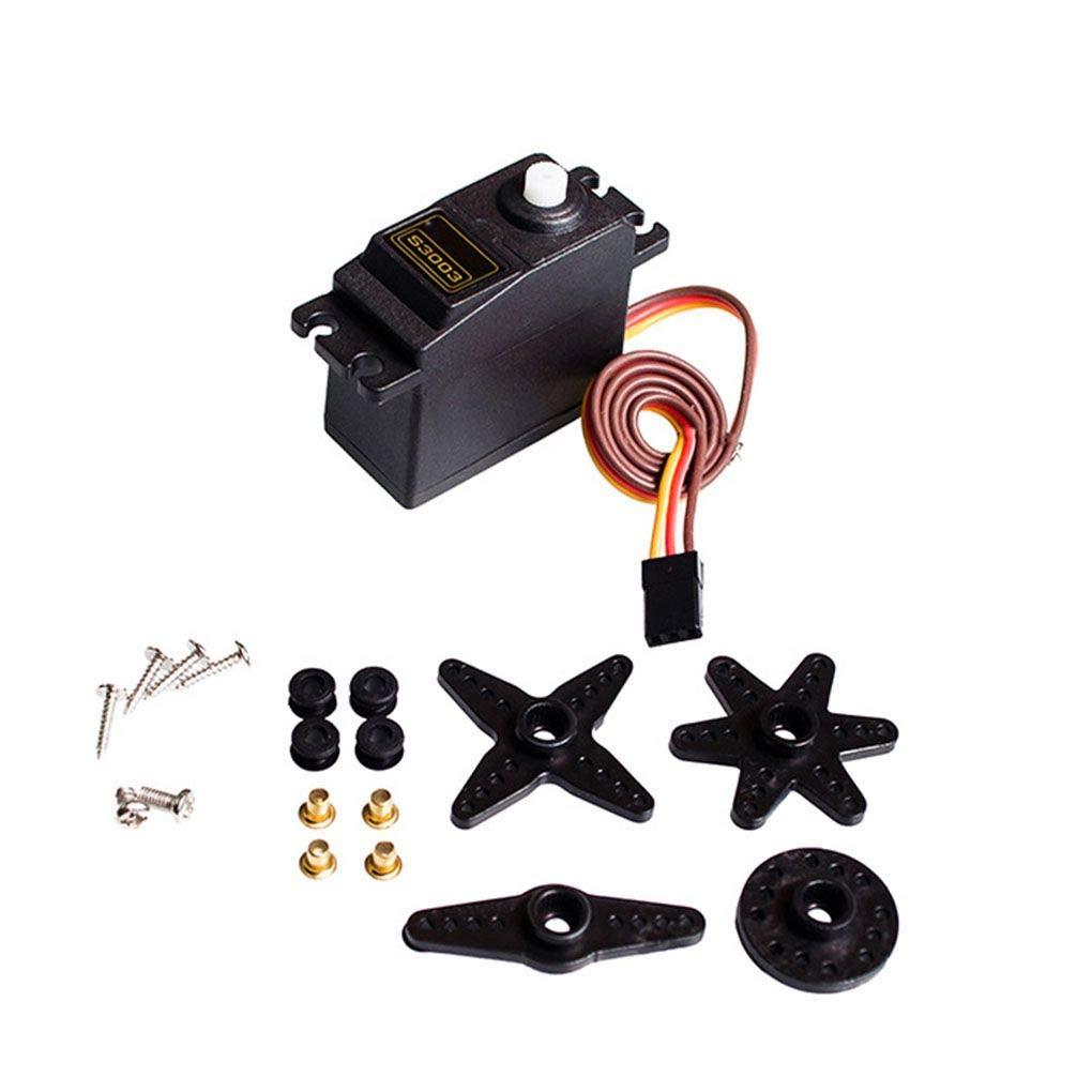 Topker S3003 Standard Universal Power Servo Compatible pour RC Cars Bateau Avion V/éhicule Robot Servo