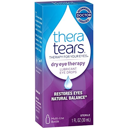 TheraTears Dry Eye Therapy- Lubricant Eye Drops- Value Size. 2 Pack SP ( 60mL Total ) Thera-Uv