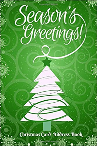 Christmas card address book keep track of seasonal greeting cards christmas card address book keep track of seasonal greeting cards to from family and friends with our handy organizer planner notebook journal to m4hsunfo