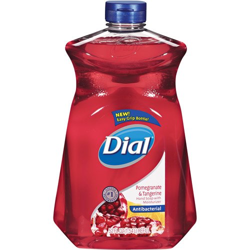 Dial Liquid Hand Soap Refill, Pomegranate and Tangerine, 52