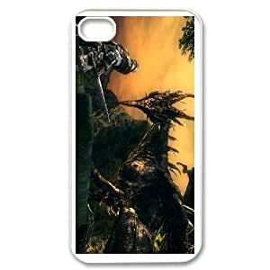 iphone4 4s White Dark Souls phone cases&Holiday Gift