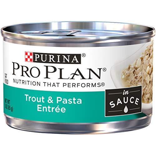 Purina Pro Plan Wet Cat Food; Trout & Pasta Entree in Sauce - 3 oz. Pull-Top ()