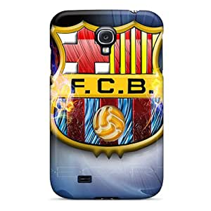 Qks16516QYrK EOVE Fc Barcelona Logo Durable Galaxy S4 Tpu Flexible Soft Case