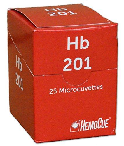 HemoCue Analyzer HemoGlobin Microcuvettes Sealed