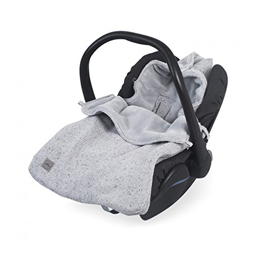 Jollein - Comfortbag groep 0+ 3/5 punts Confetti knit grey