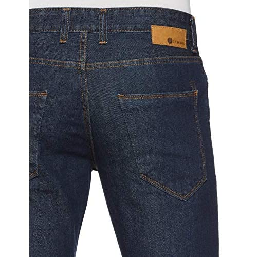 514Bqa7HBCL. SS500  - Amazon Brand - Symbol Men's Relaxed Fit Jeans