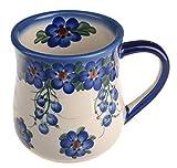 Classic Boleslawiec Pottery Hand Painted Ceramic Mug 0.35 litre 053-U-001