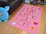 A2Z 4 Kids Childrens Large Play Mats. Size 80cm x 120cm (Hopscotch)