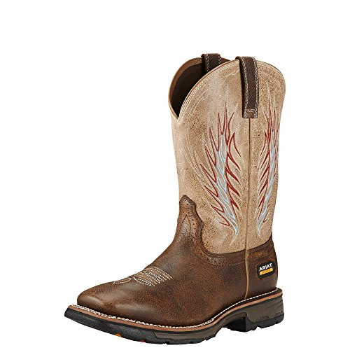 Picture of Ariat Men's Workhog Mesteno II Work Boot, Rustic Brown/Stone, 11.5 D US