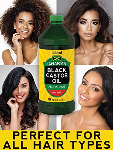 Island Jamaican Black Castor Oil Huge 16 oz Bottle for Hair Growth