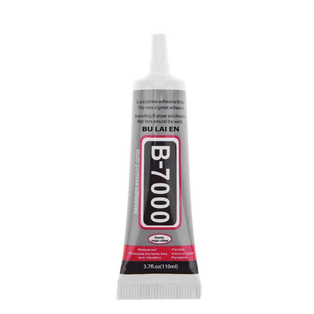 CAT PALM B-7000 Adhesive, Multi-Function Glues Paste Adhesive Suitable for Glass,Wooden, Jewelery, 3.7oz