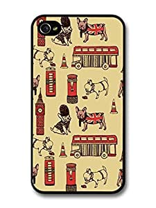 Accessories British Pug Pattern London Big Bang case for iPhone 5s