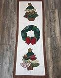 Christmas Handmade Classic Table Runner. Rectangular.