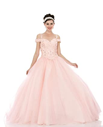 MISS XV USA Lace Quinceanera Dresses Formal Prom Dresses Ball Gown ...