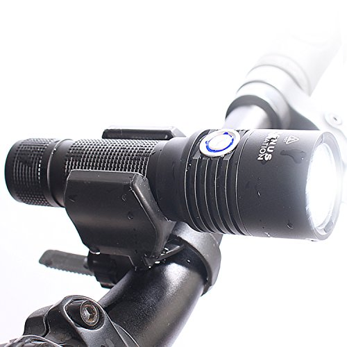 Vision II 860 Lumen USB Bike Light, FREE Extra Battery For LONGER RUN-TIME, Fits All Bicycles Road, Hybrid & Mountain Bicycles, Easy Install & Waterproof - 100% Satisfaction Guarantee!