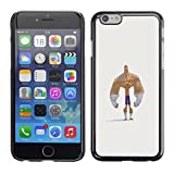 Planetar® ( Forearms Bodybuilder Funny Man Strong ) Apple iPhone 6 Plus(5.5 inches)Hard Printing Protective Cover Protector Sleeve Case