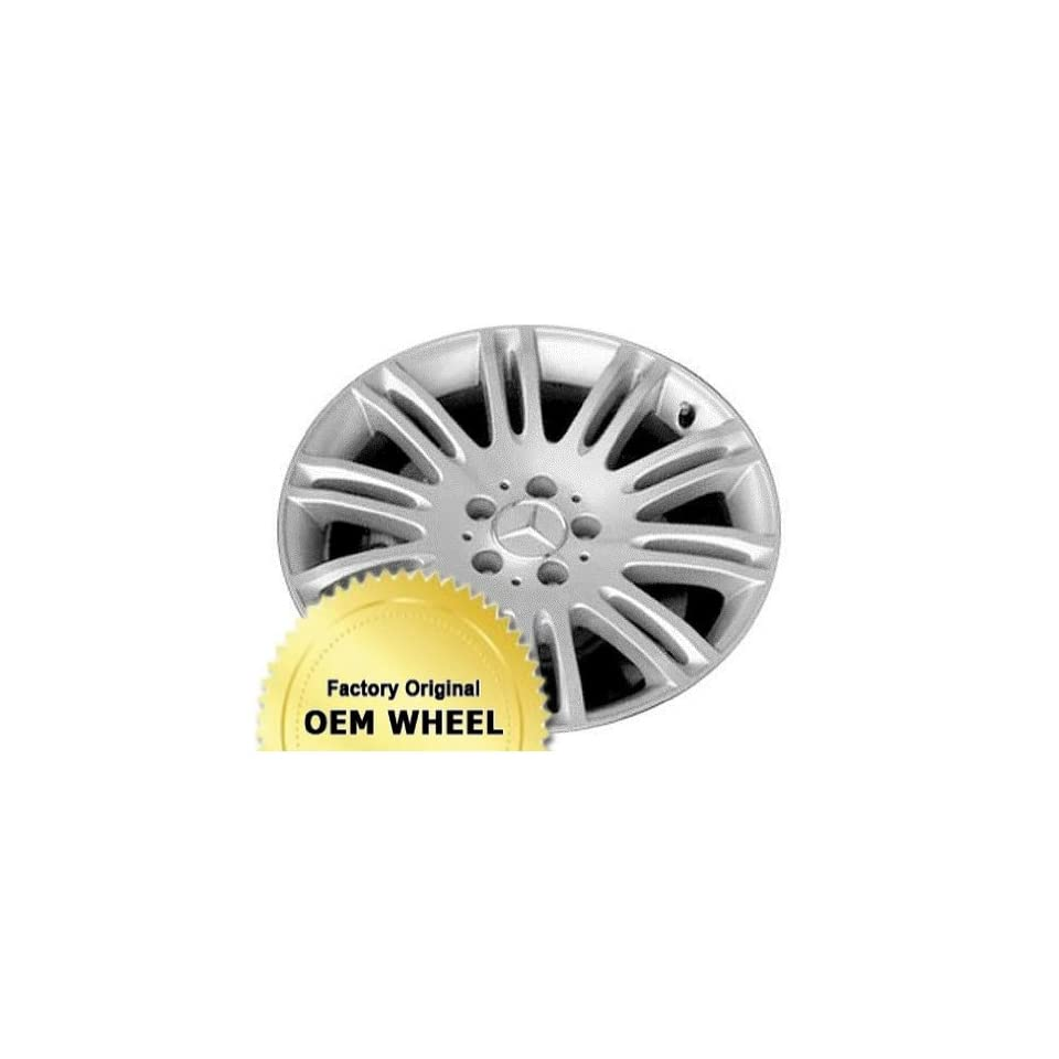 Mercedes E Class 18X9 5 112 20 Spoke Rear Factory Oem Wheel Rim   Silver Finish   Remanufactured