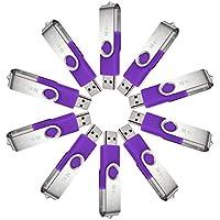 Meco 4GB USB 2.0 Flash Drive, Purple (10 pcs)