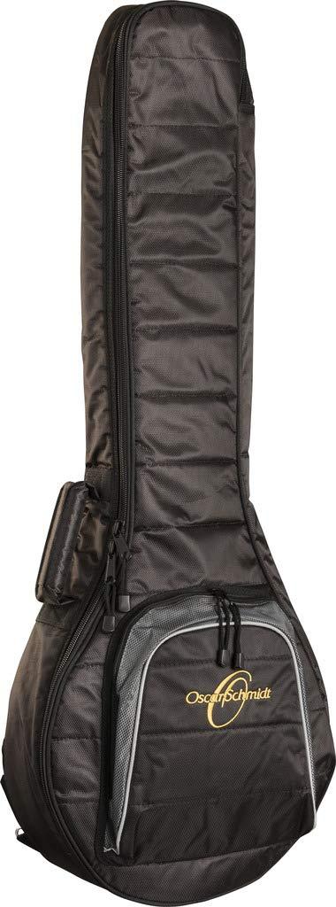 Oscar Schmidt Banjo 10mm Gig Bag, HD Nylon Shell, Storge Pocket, OSGBB10