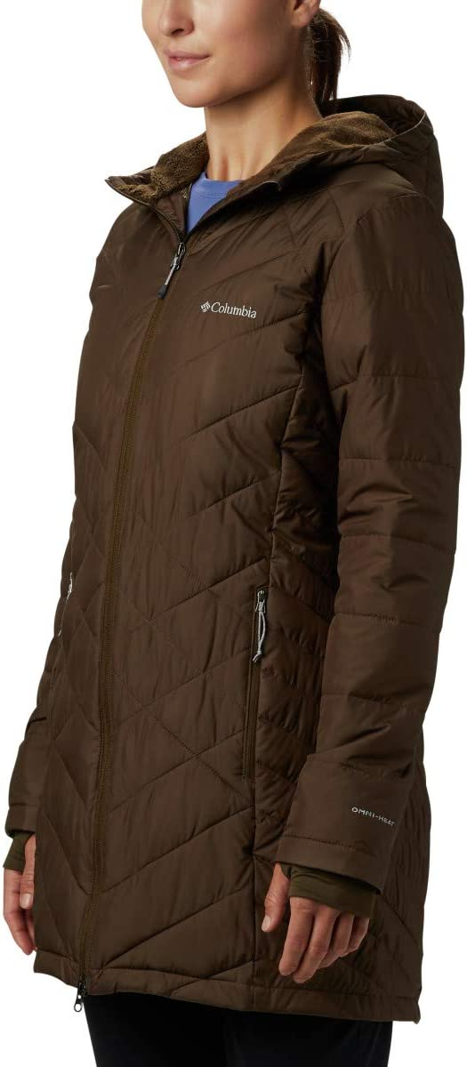 Columbia womens Heavenly Long Hooded Jacket