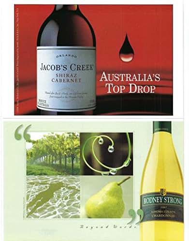 1998 Vintage Print Ad for Jacob's Creek Shiraz Cabernet   Australia's Top Drop