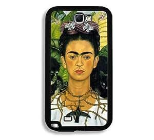Frida Kahlo Self Portrait Samsung Galaxy Note 2 Note II N7100 Case - Fits Samsung Galaxy Note 2 Note II N7100