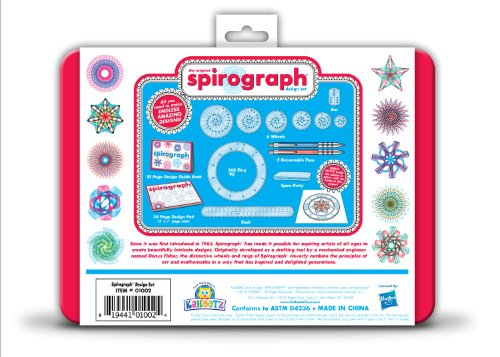 Review Spirograph Design Tin Set