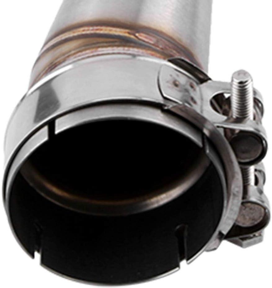 Auspuff Mittelrohr 3 St/ück Auspuffrohr Motorrad Auspuff Mittelrohr Auspuff Link Connect Adapter f/ür Z1000 2011-2018