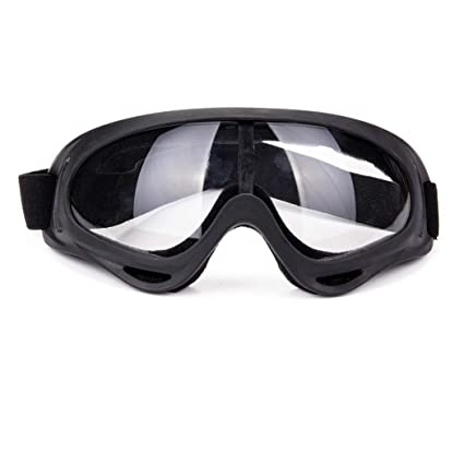311e5f3434 Image Unavailable. Image not available for. Color  Unisex Pilot Motorcycle  Goggles Ski Snowboard Anti-UV Anti-fog Protect Safety Glasses