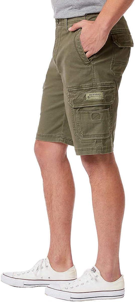 UNIONBAY Mens Wyatt Stretch Cargo Short