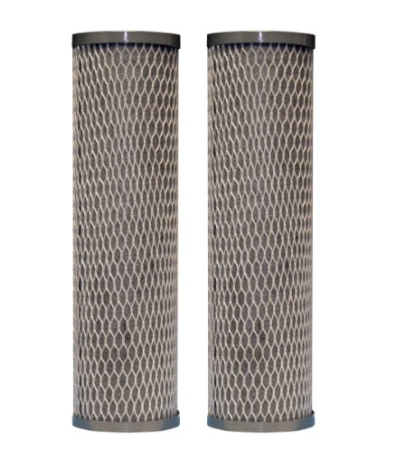 DuPont WFPFC8002 Universal Whole House Carbon Wrap 2-Phase Cartridge, 2-Pack (Whole House Water Treatment)