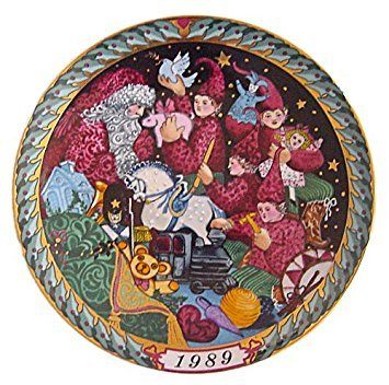 'Santa Claus Series' -- 1989 Bing & Grondahl Limited Edition Collector's Plate -- Fine Imported Porcelain --