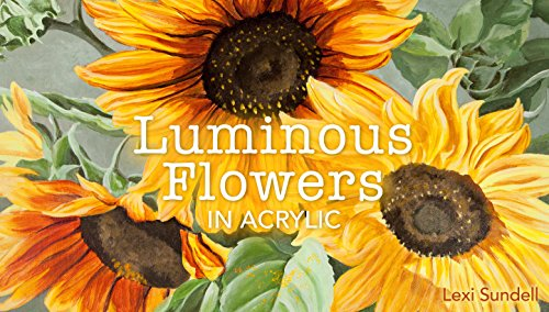 Luminous Flowers in Acrylic - Color The How To Mix Black