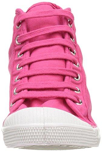 Bensimon Tennis Mid Femme, Zapatillas Altas para Mujer Rose (Rose)