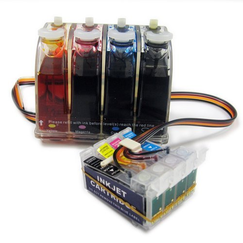 Gigablock Bulk Continuous Ink System (CIS) for: Epson Wor...
