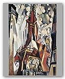 """La Tour Eiffel by Robert Delaunay 23""""x15.5"""" Art Print Poster"""