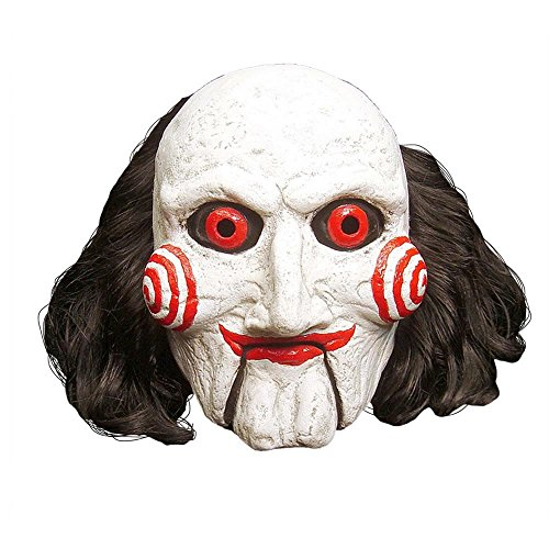 Trick Or Treat Studios Men's Saw-Billy Puppet Mask, Multi, One (Saw Halloween Masks)