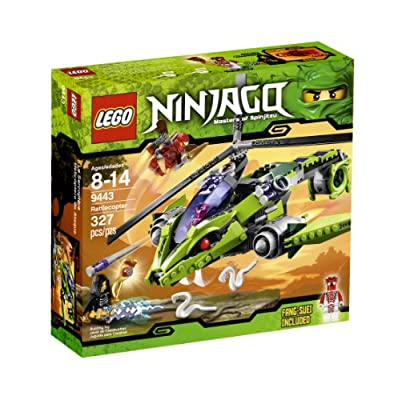 Lego Ninjago Rattlecopter 9443 from LEGO