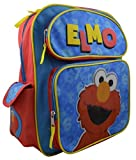 "Sesame Street Toddler Elmo 14"" Deluxe Backpack with Multiple Pockets"