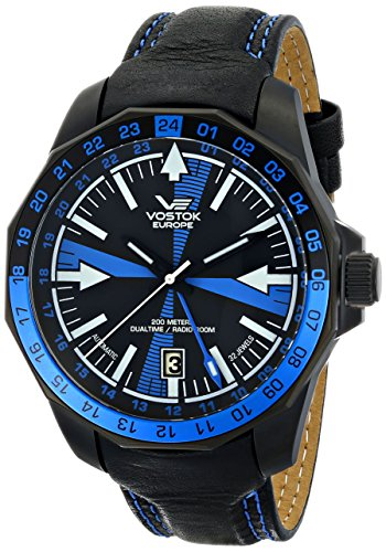 Vostok-Europe Men's 2426/2254191 Proprietary Vostok Russian Movement Watch