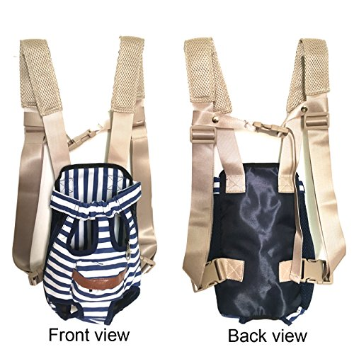 30bb162456bf COODIA Legs Out Front Pet Dog Carrier Front Chest Backpack Pet ...